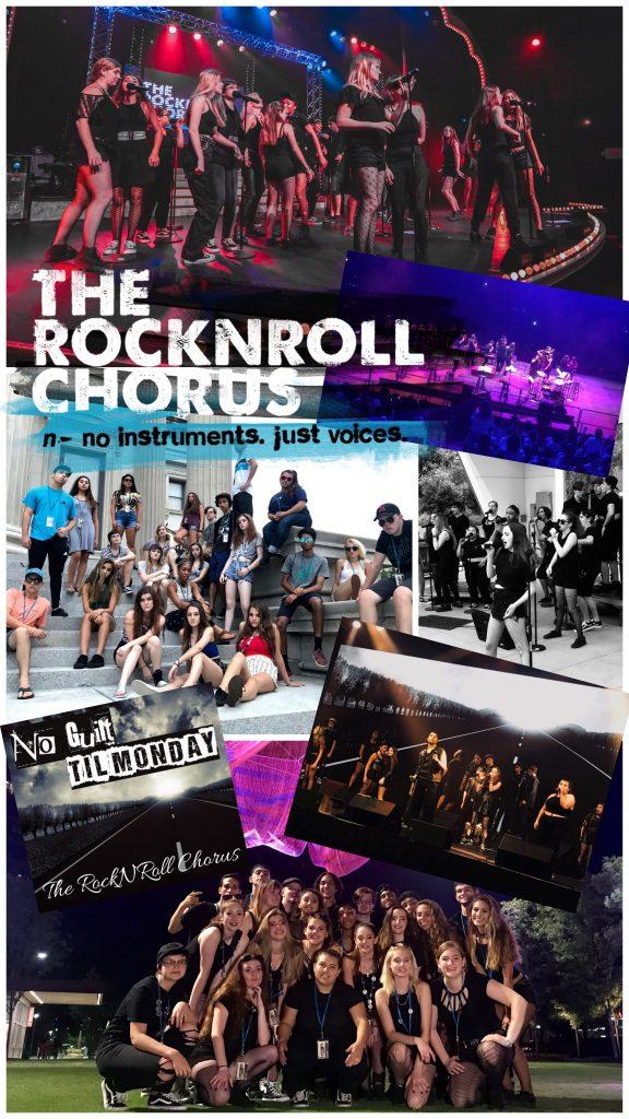 The RockNRoll Chorus Booking Packet Rider